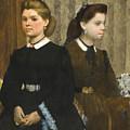 The Bellelli Sisters by Edgar Degas