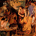 The Coat Of Many Colours by Ford Madox Brown