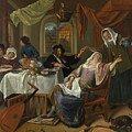 The Dissolute Household by Jan Steen