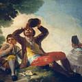 The Drinker by Francisco Goya