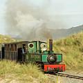 The Fairbourne Miniature Steam Railway, Gwynedd, North Wales Uk by Keith Morris
