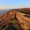 The Gritstone Rock Formations On Stanage Edge by Dave Porter