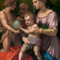 The Holy Family With The Young Saint John The Baptist by Andrea del Sarto