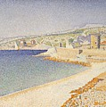 The Jetty At Cassis Opus 198 by Paul Signac