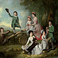 The Lavie Children by Johann Zoffany