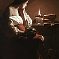 The Magdalen With The Smoking Flame by Georges de la Tour