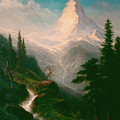 The Matterhorn by Albert Bierstadt