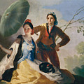 The Parasol by Francisco Goya