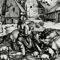 The Prodigal Son by Albrecht Durer or Duerer