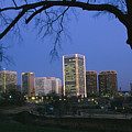 The Richmond, Virginia Skyline by Medford Taylor