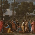 The Sacrament Of Ordination by Nicolas Poussin