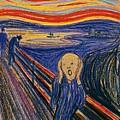 The Scream Ver 1895 Edvard Munch by Eloisa Mannion
