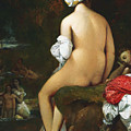 The Small Bather by Jean-Auguste-Dominique Ingres