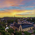 The Superb View Of The Grund, Luxembourg by Chon Kit Leong