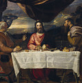 The Supper At Emmaus by Titian