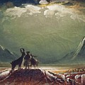The Tempest by Peder Balke