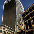 London Walkie Talkie. by Nigel Dudson