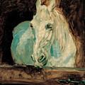 The White Horse Gazelle by Henri De Toulouse-Lautrec