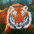 Tiger- Large Work by Angie Wright