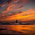 Tiscornia Beach - St. Joseph by Molly Pate