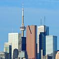 Toronto Skyline by Songquan Deng