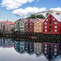 Trondheim Coastal View by Anthony Dezenzio