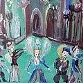 Tudor Fairies by Judith Desrosiers