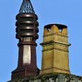Two Chimney Pots. by Stan Pritchard