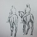 Two Horse by Hae Kim