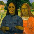 Two Women by Paul Gauguin