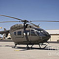 Uh-72 Lakota Helicopter At Pinal by Terry Moore