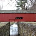 Uhlerstown Covered Bridge by Ken Keener