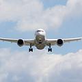 United Airlines Boeing 787 by David Pyatt