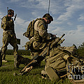 U.s. Air Force Combat Controllers by Stocktrek Images