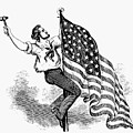 U.s. Flag, 19th Century by Granger