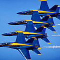 Us Navy Blue Angels by Michael Rucker