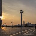 Venice At Sunset by Eden Breitz