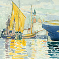 Venice-the Giudecca by Henri-Edmond Cross