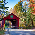 Vermonts Moseley Covered Bridge by Jeff Folger