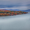 View From The Bear Mountain Bridge by Eleanor Bortnick