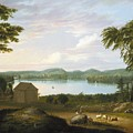 View Of Springfield On The Connecticut River by Alvan Fisher
