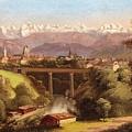 views of Bern and the Bernese Oberland by Hubert Sattler