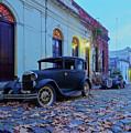 Vintage Cars In Colonia Del Sacramento, Uruguay by Karol Kozlowski