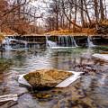 Walnut Creek Waterfall by Mark McDaniel