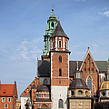 Wawel Cathedral In Krakow by Artur Bogacki