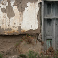 Weathered Door In A Wall by Robert Hamm
