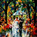 Wedding Under The Rain by Leonid Afremov