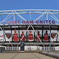 West Ham Fc Stadium London by David Pyatt