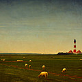 Westerhever Lighthouse by Angela Doelling AD DESIGN Photo and PhotoArt