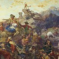 Westward The Course Of Empire Takes Its Way by Emanuel Gottlieb Leutze